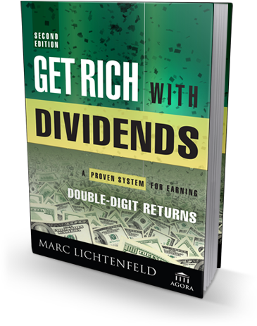 Get Rich With Dividends - Book Cover